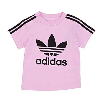 Adidas I 3STRIPES tee Camiseta, Niños, Rosa (Rosesc), 104: Amazon.es: Deportes y aire libre