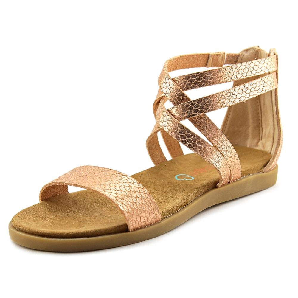 BareTraps Girls Thyme Fashion Rose Gold Sandals Shoes