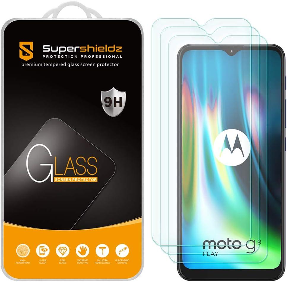 Vidrios templados para Motorola G9 Play (Pack de3)