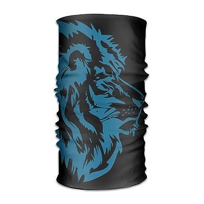 HEHE TAN Unisex Beanie Lion Face Multifunctional Bandanas Sweatband Elastic Turban Headwear Headscarf