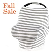 Arcilla & Co. Fall Sale! Stretchy Baby Car Seat Cover, Nursing Cover, Breastfeeding Cover for Boys and Girls