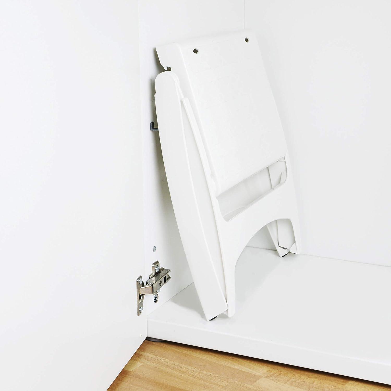 /plegable /& Soporta hasta 120/kg/ UPP klapptritt m/óvil /& Easy/ /Taburete Gepr/üft DIN En14183