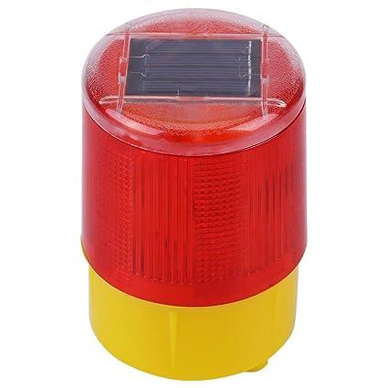 1 Unid LED Luz de Advertencia de Emergencia de Solar Lámpara ...