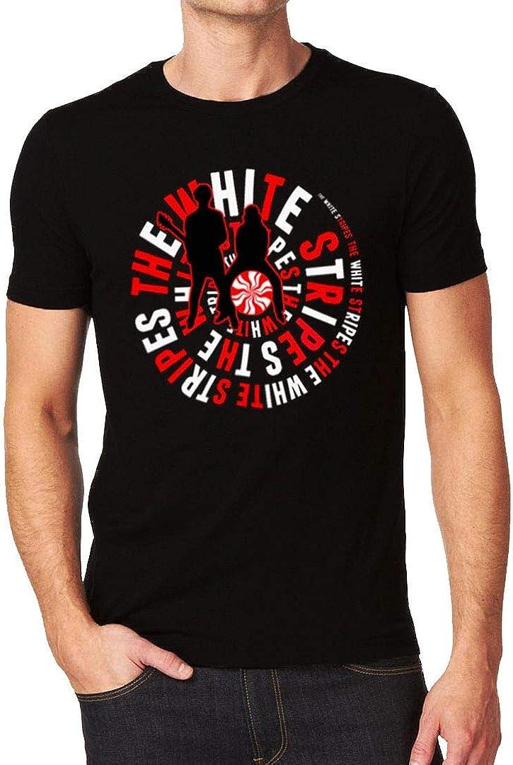 The White Stripes Band Music Duo Logo Tee Men's T-Shirt