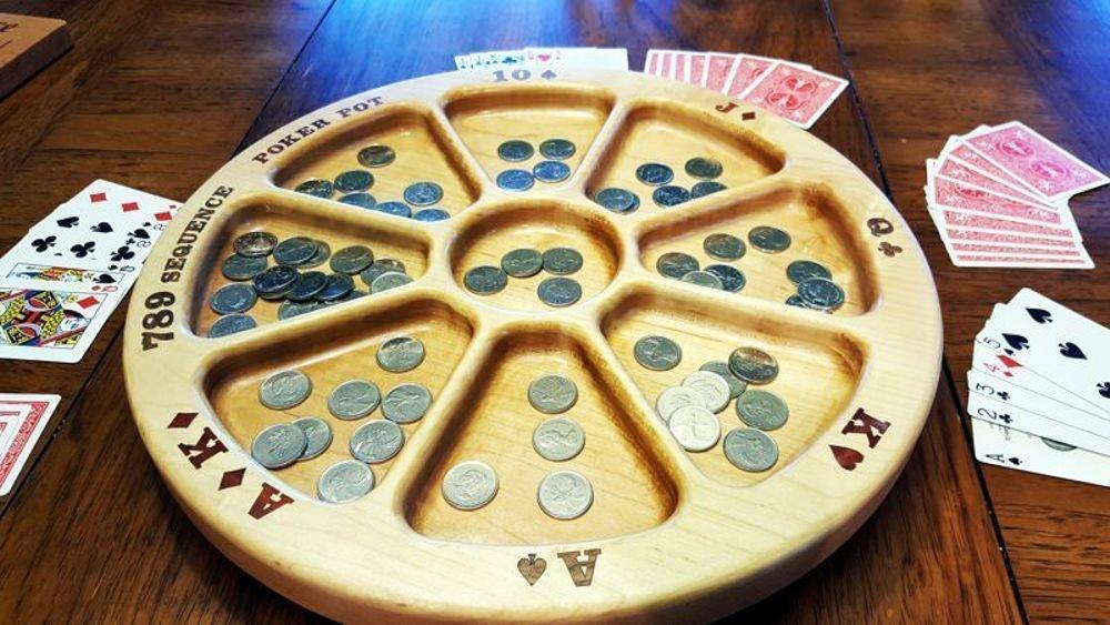 Rummoli Game Tray