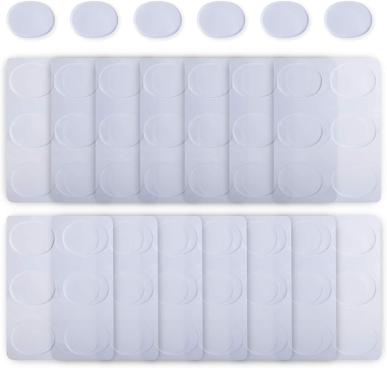 90-piece drum damper gel pad silicone drum muffler soft drum damper gel pads Transparent drum mute pad drum tone control