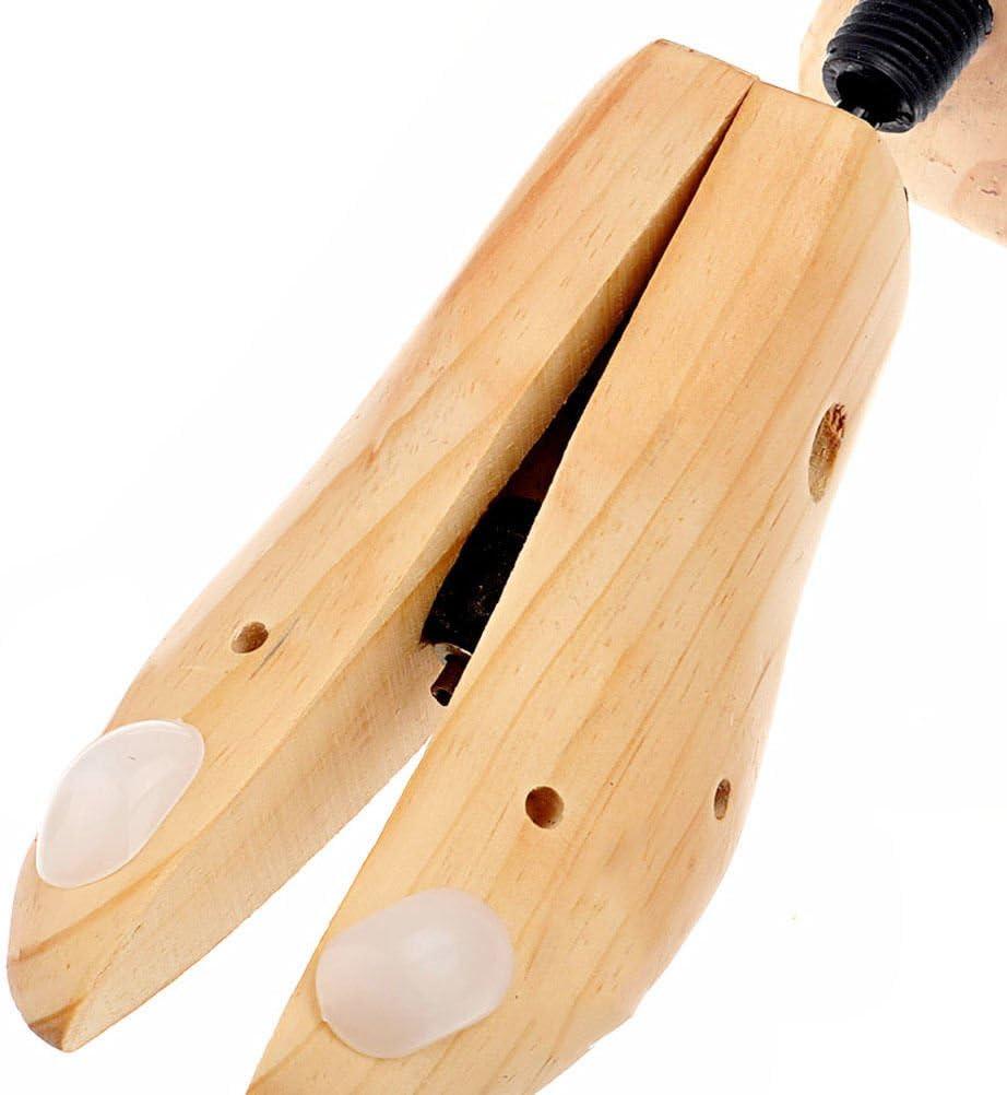 Unisex Women Men Wooden Plastic Adjustable Shoe Stretcher Expander Shaper