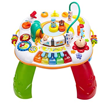 NINI 2 en 1 Juguetes Mesa de Aprendizaje Musical para niños Mesa ...