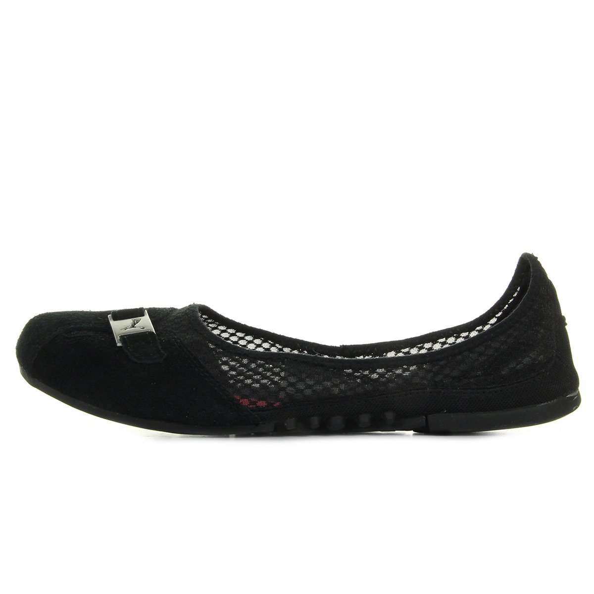 4e1a0b94758ca Puma Women's Sabadella Suede Bl Ballet Flats Black Size: 5: Amazon ...