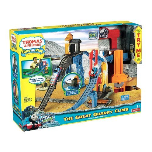 Fisher-Price Thomas & Friends Take N Play - The Great Quarry Climb (Age: 3 years and up) (Thomas And Friends Owen)