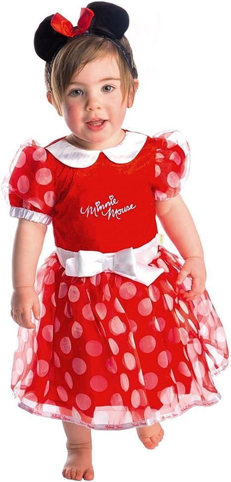 Disney - Disfraz de Minnie Mouse infantil, talla 0-6 meses (DCMIN ...