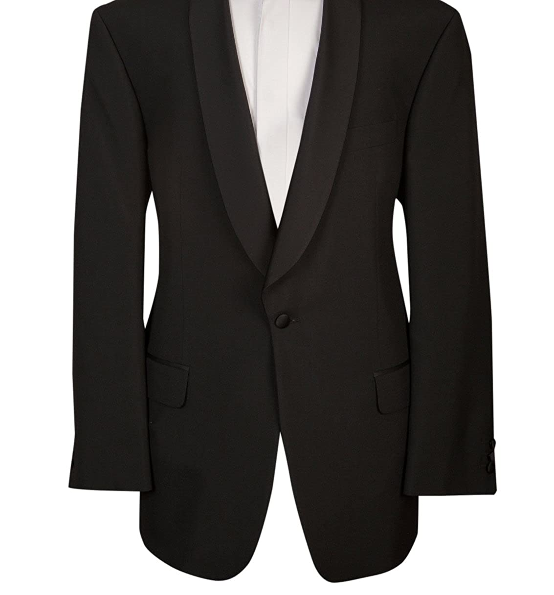 Black Shawl Collar Tuxedo Tux Dinner Evening Blazer Jacket
