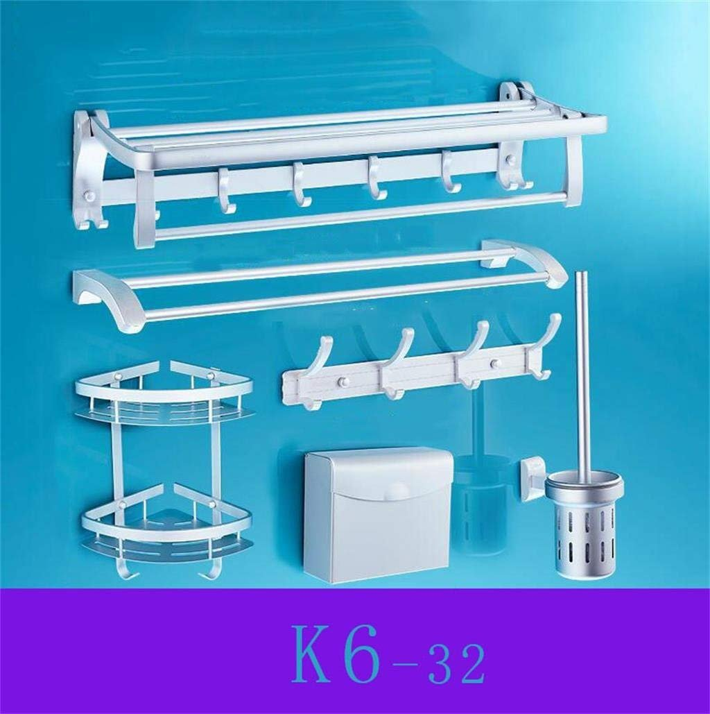 EQEQ Bath Rooms Rack Towel Rack Shelf Place The Aluminum Bath Towel ...