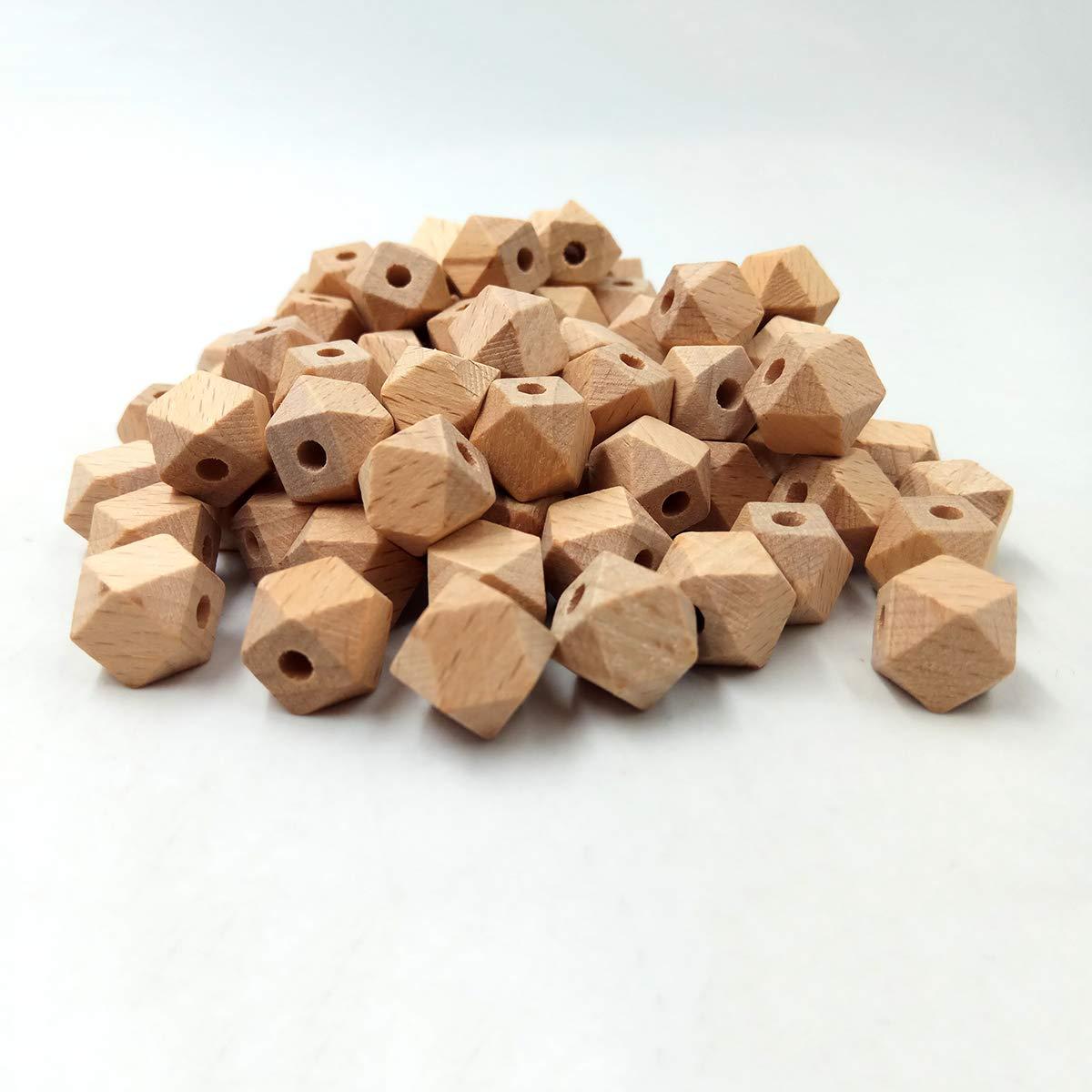 Amazon.com: Alenybeby - Cuentas de madera de haya ...