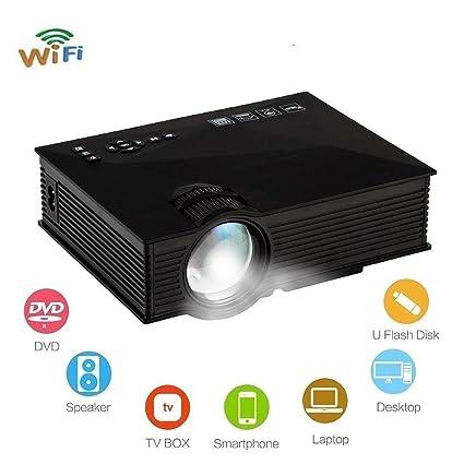 953778359fbe14 Amazon.com: Portable Projector Wireless Multimedia Home Cinema Mini LCD LED  Projection: Electronics