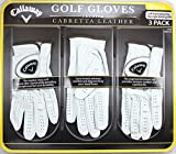 Callaway Golf Gloves 3 Pack Small Left Hand for Right Handed Golfer