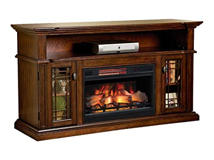 electric fireplace entertainment center Amazon.com: ChimneyFree Wallace Infrared Electric Fireplace  electric fireplace entertainment center