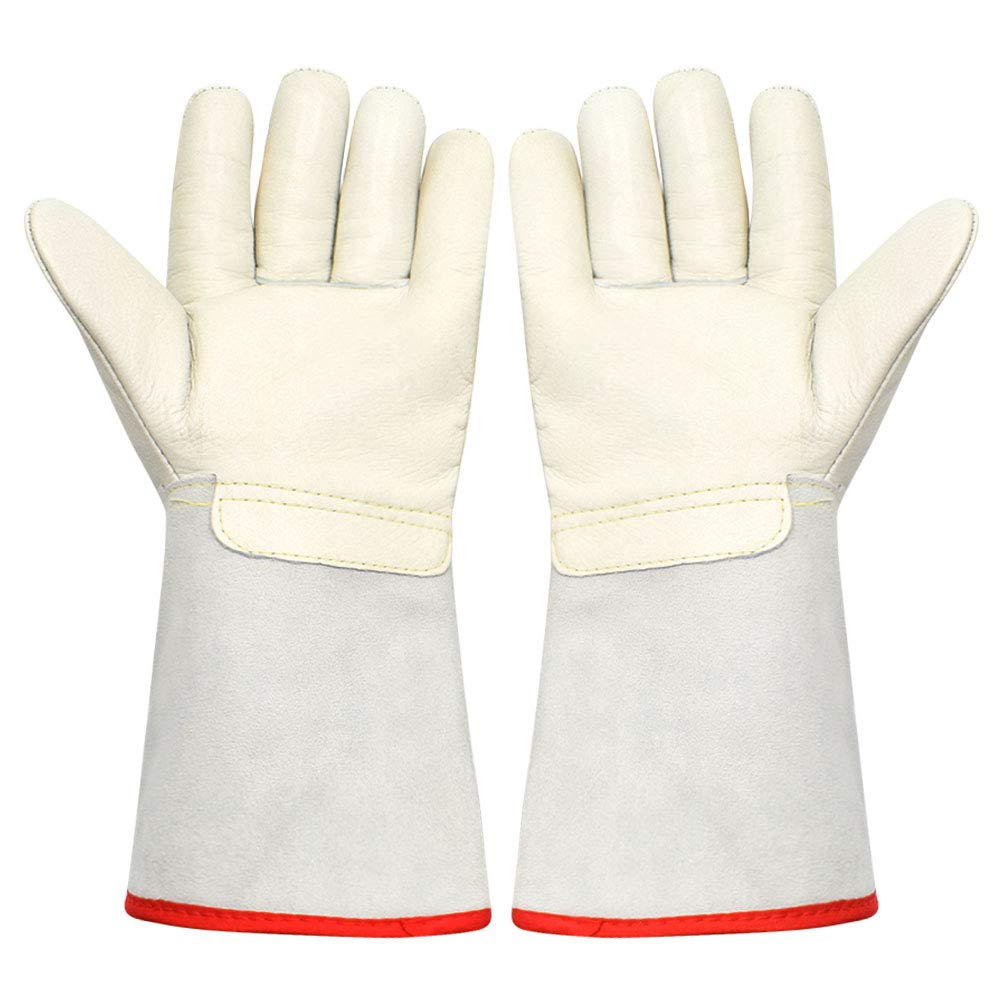 Cryogenic Gloves - ToAuto Low Temperature Resistance Waterproof Gloves Antifreeze Protective Gloves for Extremely Cold Environment