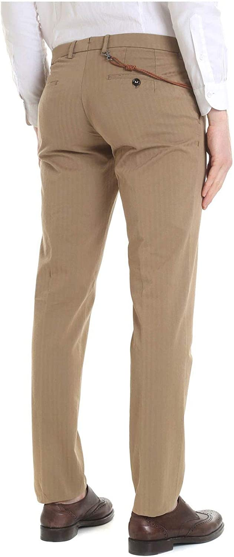 Season Outlet BERWICH Luxury Fashion Mens MILANOLM1561GOLD Beige Pants