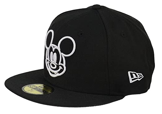 huge discount e627d db115 New Era Disney 59fifty Basecap Mickey Mouse White Face Black - 6 7 8-