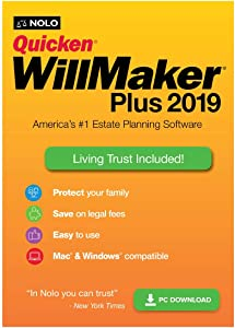 Quicken WillMaker Plus 2019 & Living Trust [PC Download]