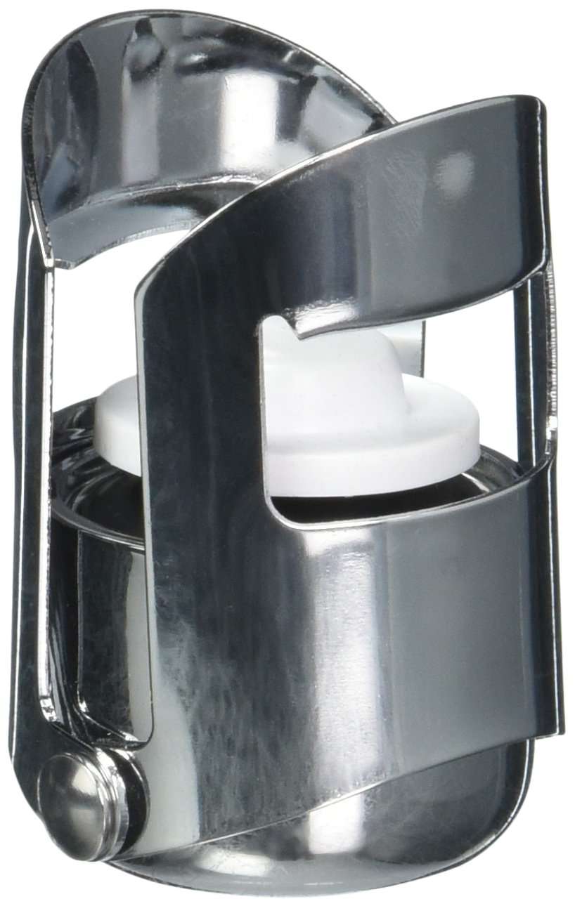 Stainless Steel with Hinged Sides 41608-04 Paderno World Cuisine Champagne Stopper