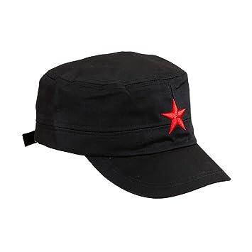 NET TOYS Cappellino da baseball con stella rossa a cinque punte modello Che  Guevara - circornferenza di testa  60cm  Amazon.it  Giochi e giocattoli a3ce18dad210
