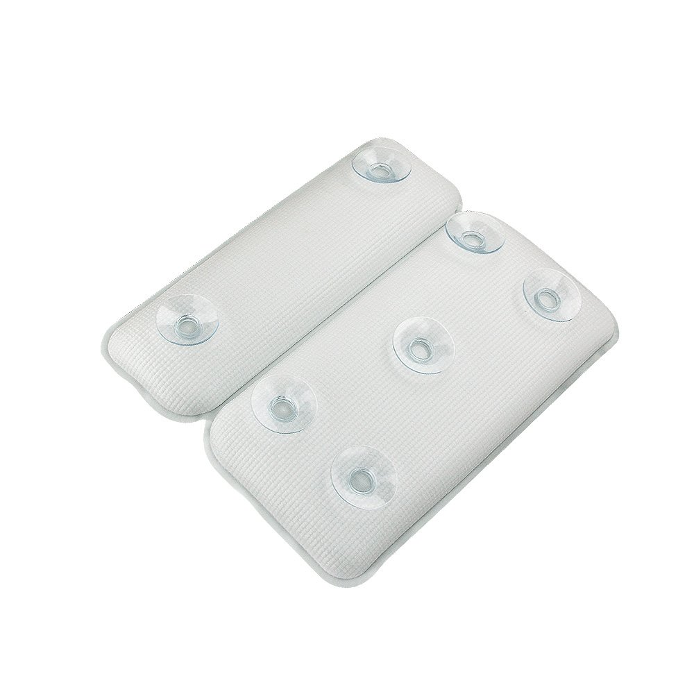 Smylls Large Bath Pillow Cushion with Non Slip Suction Cups ...