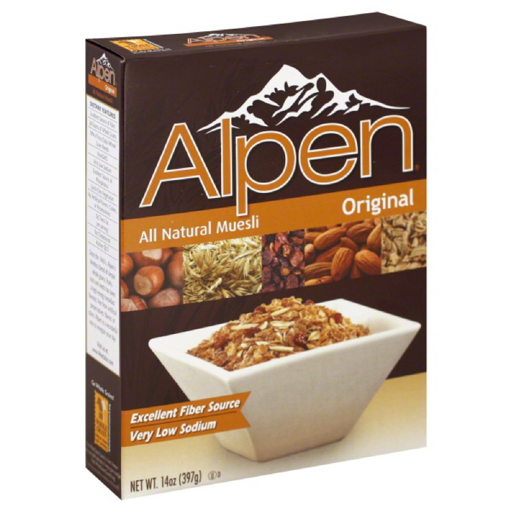 Alpen Muesli Cereal Dark Chocolate, 70% Cocoa