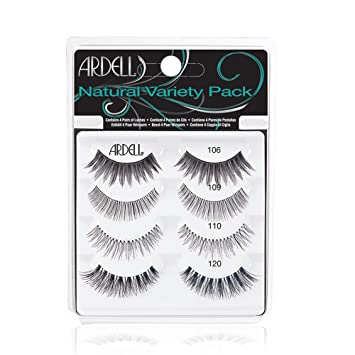 """1e2811da6ea Ardell""""Best of"""" Natural Variety Pack of False Eyelashes, 4 Pairs  of Natural"""
