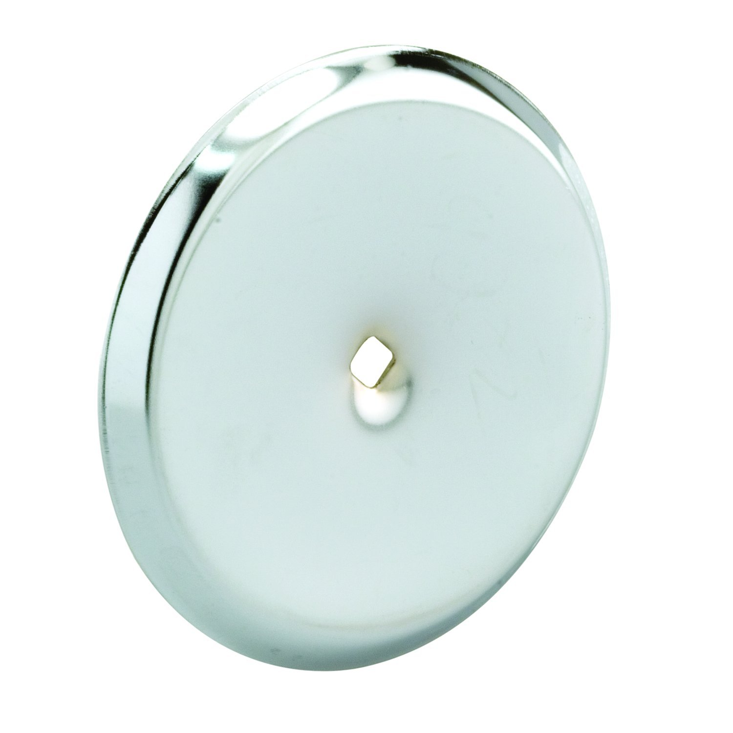Prime-Line Products MP9202 Cabinet Knob Backplate, 2-13/16 in. Outside Diameter, Stamped Steel, Chrome Plated Finish, Pack of 5