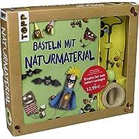 Kreativ-Set Basteln mit Naturmaterial: Buch mit Grundlagen und Bastelideen sowie Kastanienhalter und Kastanienbohrer (Buch plus Material)