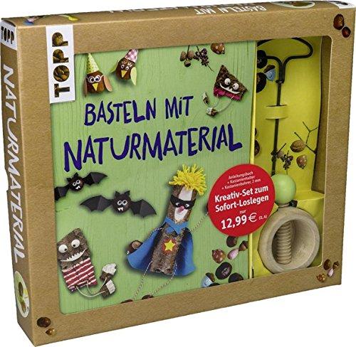 Kreativ Set Basteln Mit Naturmaterial: Buch Mit Grundlagen Und Bastelideen  Sowie Kastanienhalter Und Kastanienbohrer Buch Plus Material: Amazon.de:  Pia ...