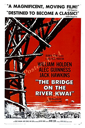 Posters USA - The Bridge on the River Kwai Movie Poster GLOSSY FINISH - MOV247 (24