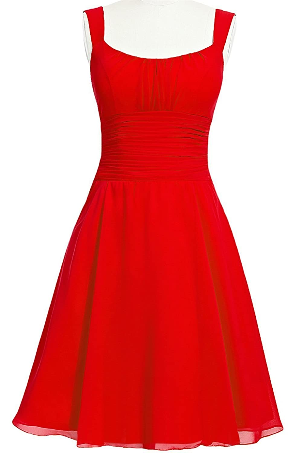 MittyDressesWomens Evening Homecoming Prom Party Cocktail Dress Size 24W US Red