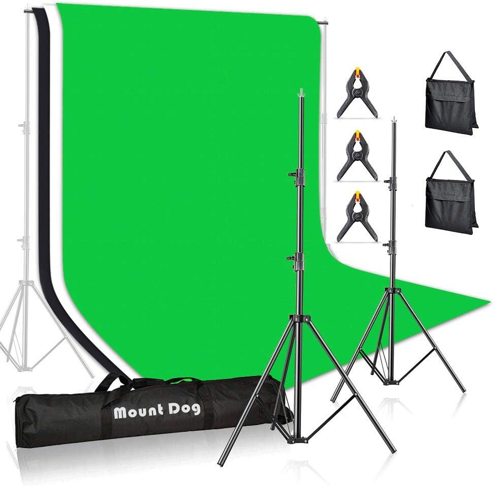 Photography Studio Green Backdrop Kit