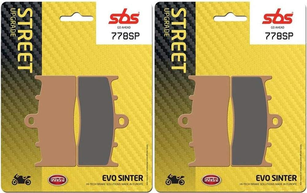 K 1200 R K1200R 05 06 07 08 SBS Performance Front Evo Sinter Sintered Street Upgrade Bremsbel/äge Set Original OE Qualit/ät 778SP