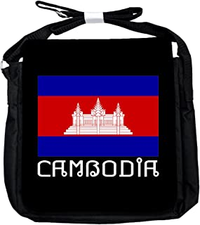 Kambodscha -Flagge - Unisex-Umhängetasche