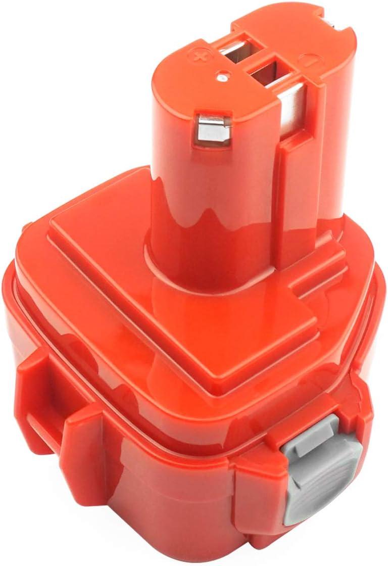ADVNOVO 12V 3.5Ah Ni-MH Batterie pour Makita PA12 Batterie Makita 1220 1222 1233 1200 1234 1235 1235B 1235F 1235A 192696-2 192698-8 192598-2 192681-5 192698-A 193138-9 193157-5