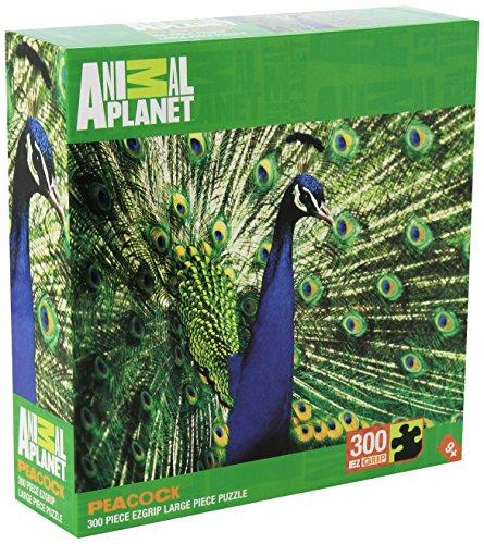 Masterpieces Peacock Animal Planet Grip Puzzle (300-Piece)
