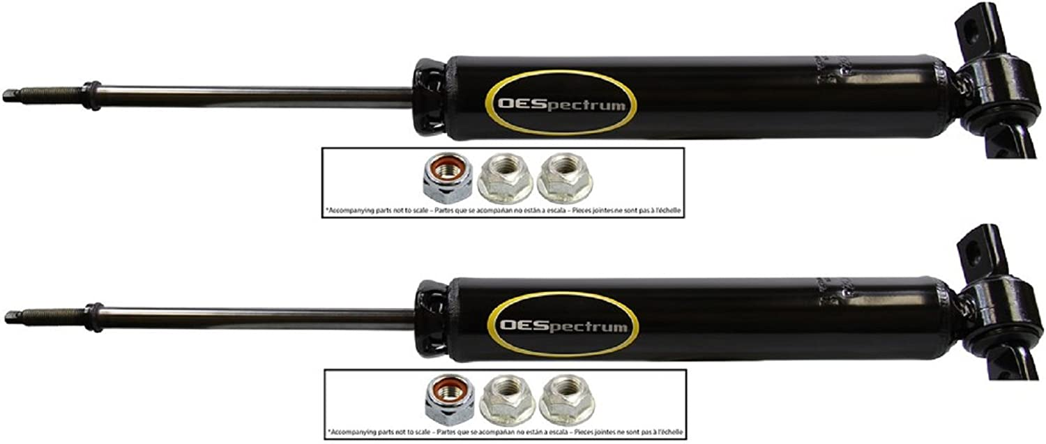 FEIPARTS Shocks 2x Rear shock absorber struts fit for 2013 2014 2015 2016 for Ford Fusion 5667
