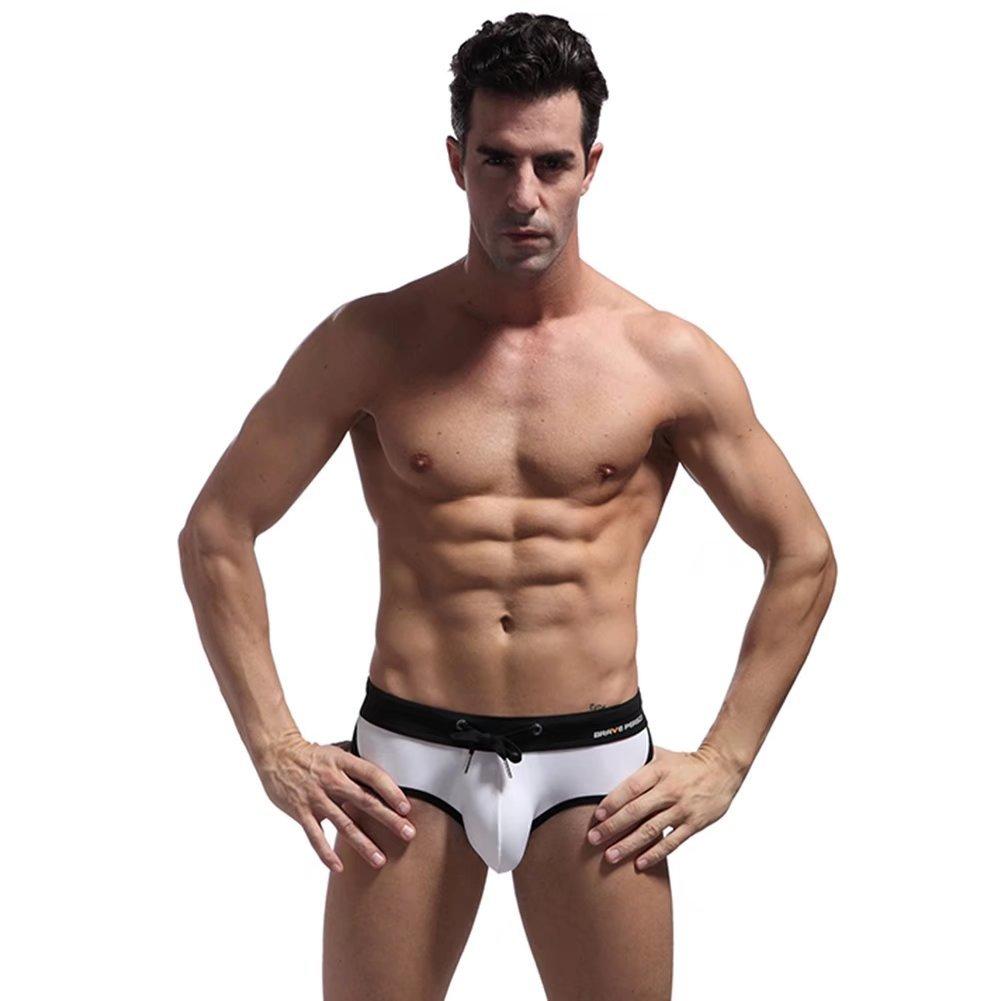 Sexcer New Hot Solid Swimming Triangle Shorts Body Bikini Swimming Briefs Swimsuit
