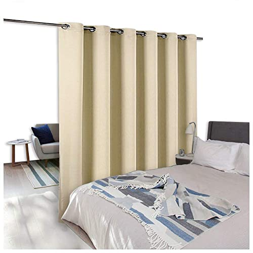 NICETOWN Room Dividers Curtains Screens Partitions, Extra Wide Grommet Top  Handing Room Dividers Blackout Curtain
