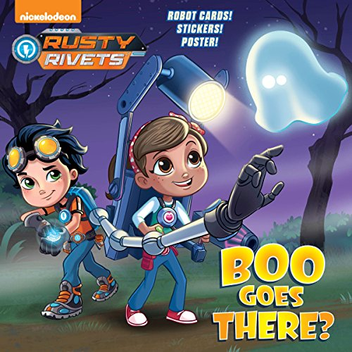 Boo Goes There? (Rusty Rivets) (Pictureback(R))