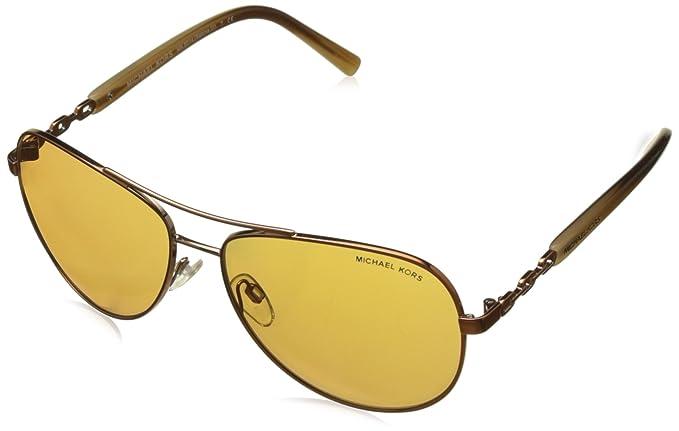 Michael Kors 10915N, Gafas de Sol Unisex-Adultos, Marrón ...