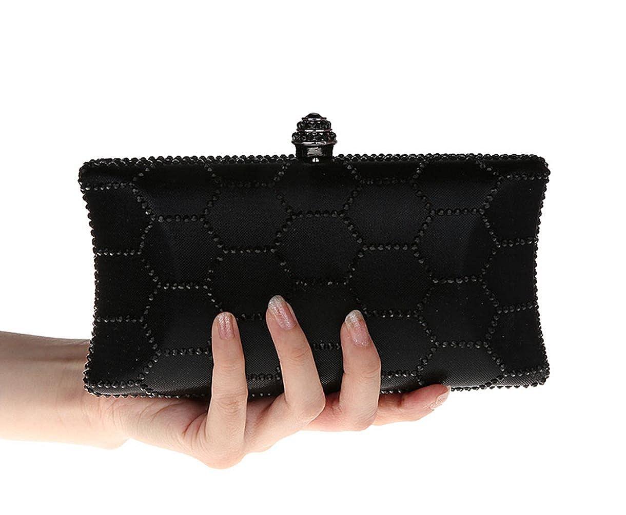Amazon.com: KAXIDY – Embrague Noche Bolso cartera Diamante ...