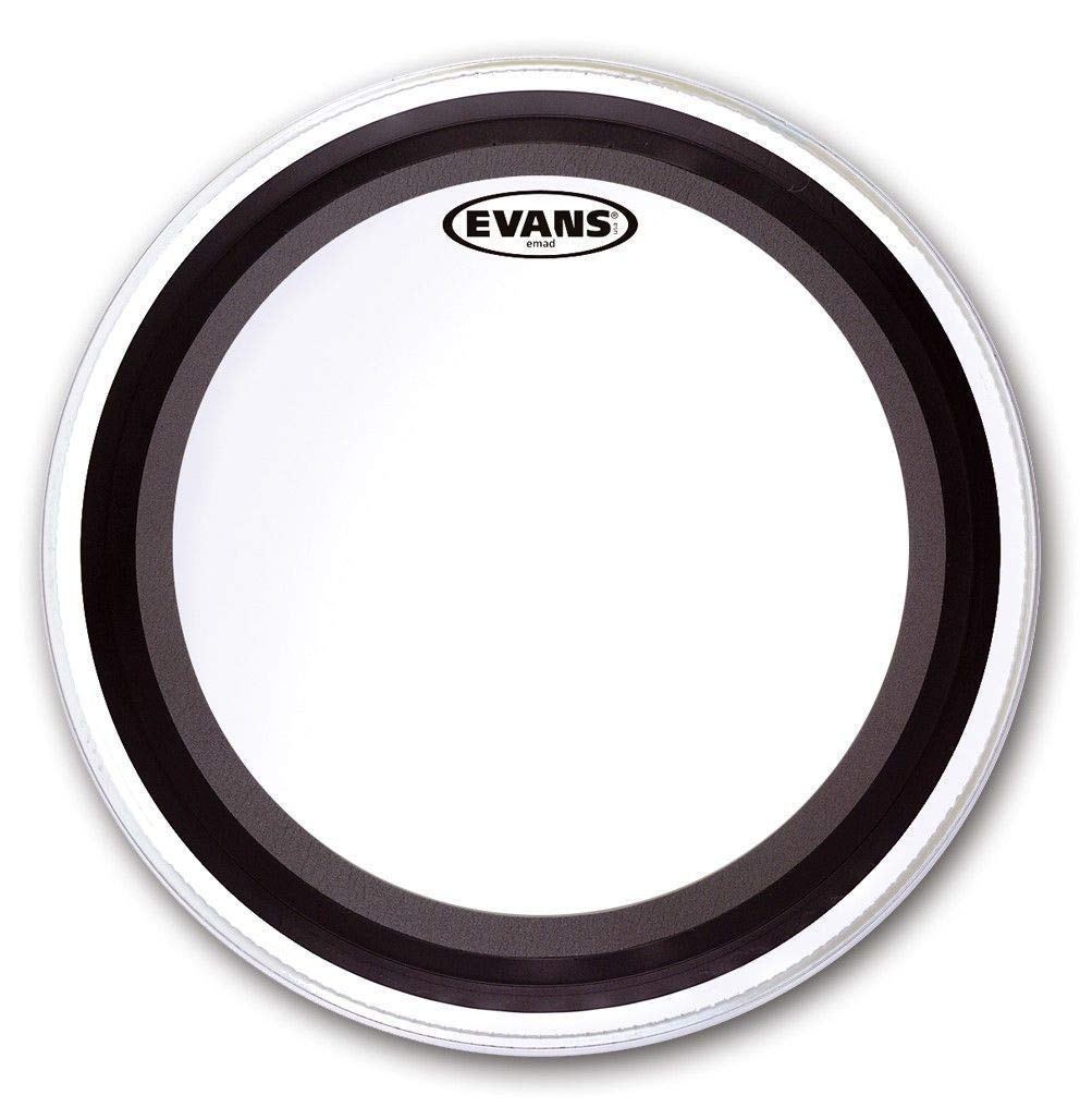 Evans EMAD2 Clear Bass Drum Head, 18 Inch,BD18EMAD2 Evans Heads