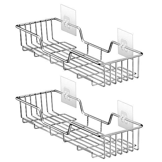 Amazon Com Shower Caddy Bathroom Shelf Storage Corner Basket Holder