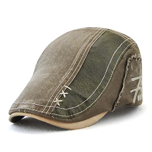 King Star Suede Fabric Flat Cap Gatsby Duckbill Newsboy Ivy Irish Cabbie  Scally Hat Army Green at Amazon Men s Clothing store  7d2a04fcc9de