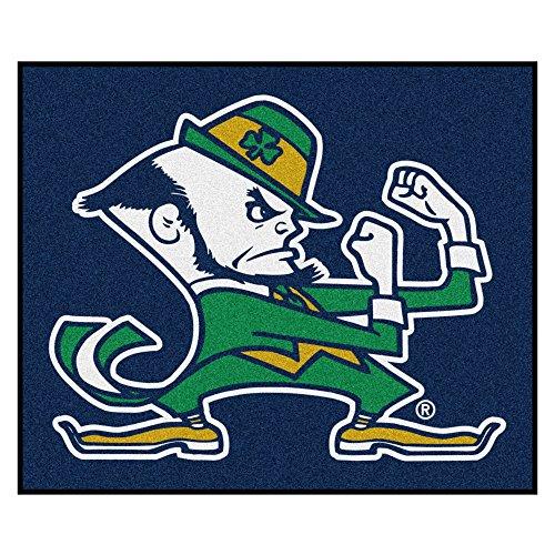 Notre Dame Tailgater - NCAA Notre Dame Fighting Irish Tailgater Mat Rectangular Outdoor Area Rug